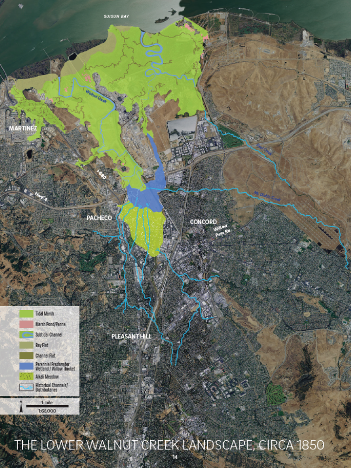 Data Walnut Creek Historical Ecology GIS Data